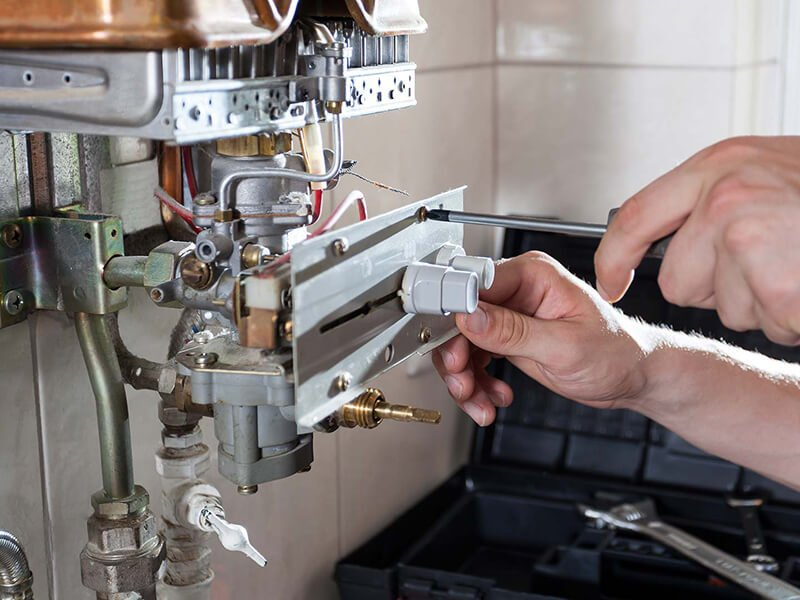 water heating system replacement